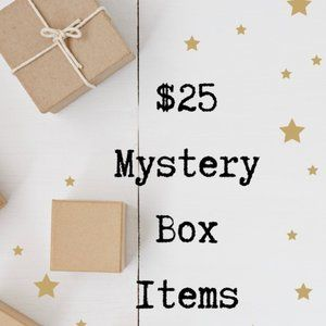 $25 Mystery Box -->  5 STAR RATED BOX ⭐️⭐️⭐️⭐️⭐️